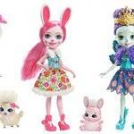 Enchantimals Pack de 3 poupées avec leurs accessoires