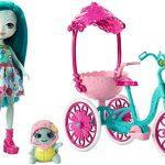 Enchantimals Taylee Tortue Sortie à Vélo