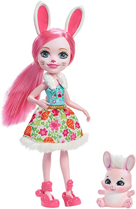 Enchantimals mini poupée bree lapin
