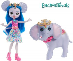 Poupées Ekaterina Éléphant Enchantimals