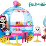 Coffret Enchantimals - Le Camion de Glaces de Preena Pingouin